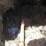 Nedgravning af faskine